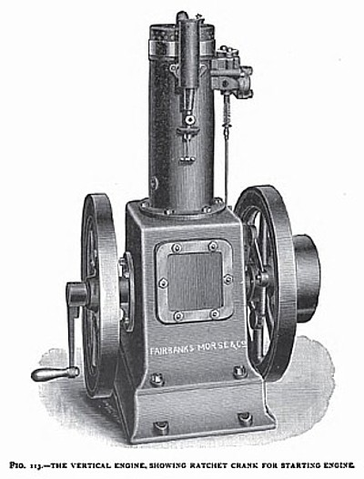 The Fairbanks-Morse Vertical Gas Engine