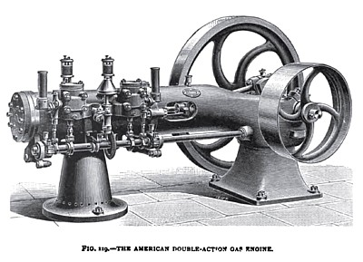 The American Double-Action Gas Engine