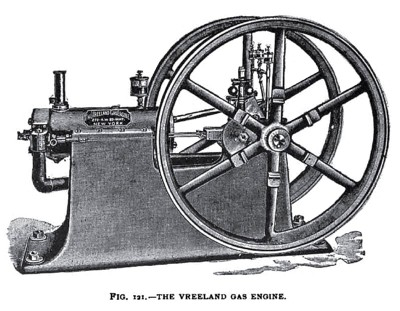 The Vreeland Gas Engine