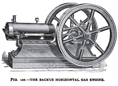 The Backus Horizontal Gas Engine