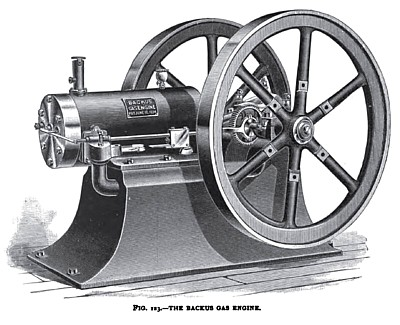 The Backus Gas Engine