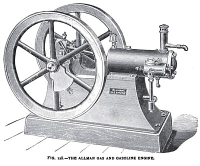 The Allman Gas and Gasoline Engine