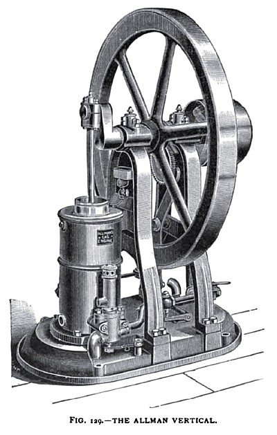 The Allman Vertical Gas Engine