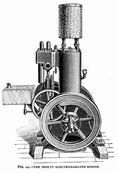 The Prouty Electro-Gasoline Engine