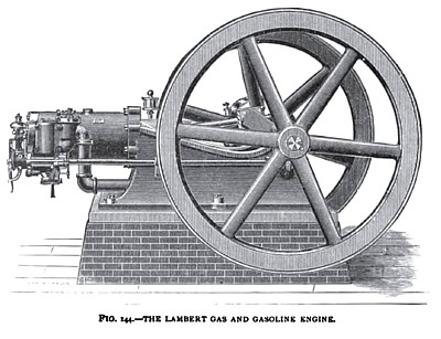 The Lambert Gas and Gasoline Engine