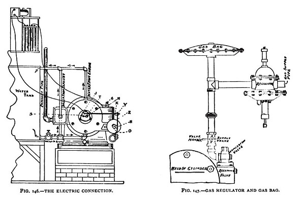 The Lambert Electric Connection & Gas Regulator