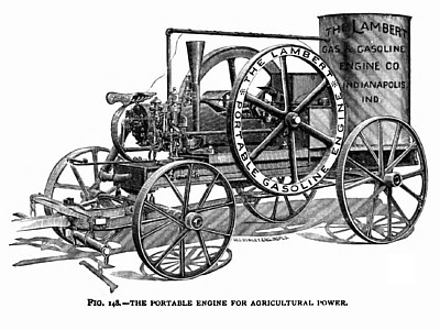 The Lambert Portable Gas Engine