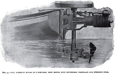 The American Marine Gas Engine