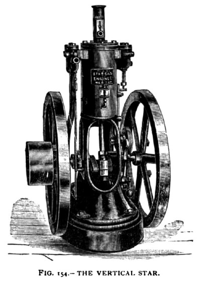 The Star Vertical Gas Engine