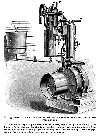 The Daimler Gasoline Engine