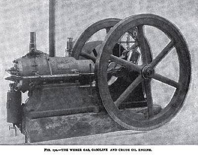 The Weber Gas, Gasoline and Crude Oil Engine