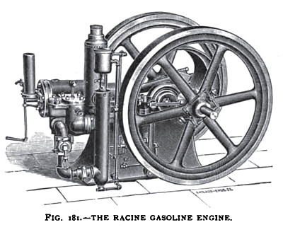 The Racine Gasoline Engine