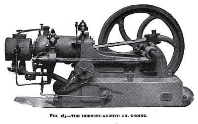 The Hornsby-Akroyd Oil Engine