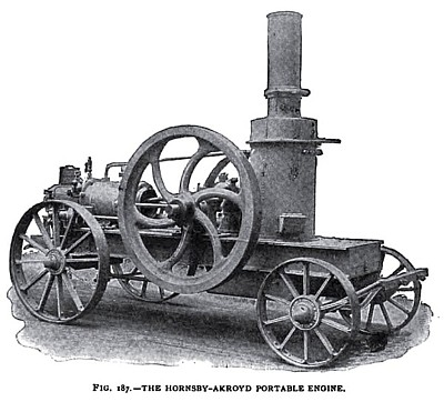 The Hornsby-Akroyd Portable Oil Engine