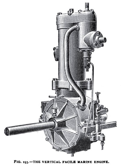 The Facile Vertical Marine Engine