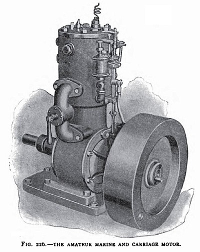 The Amateur Marine & Carriage Motor