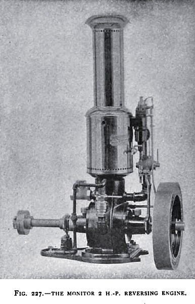 The 2 H. P. Reversing Engine