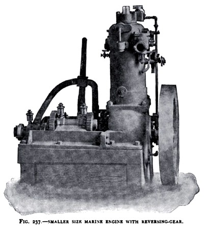 The Otto Small Marine Engine (with Reversing Gear)