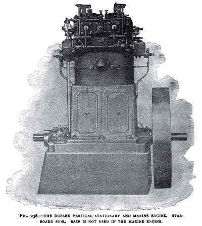 The Otto Duplex Marine Engine (Starboard Side)