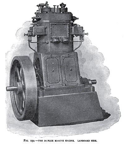 The Otto Duplex Marine Engine (Larboard Side)