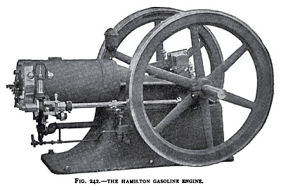 The Hamilton Gasoline Engine