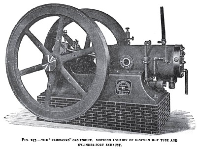 The Fairbanks Gas Engine with Hot Tube Ignition