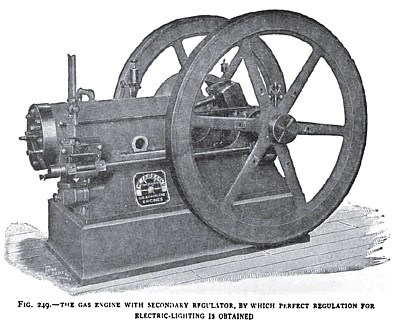 The Fairbanks Gas Engine with Secondary Regulator