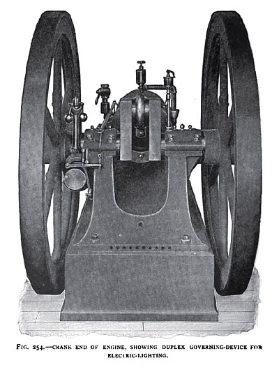 The Fairbanks Gas Engine (Rear View)