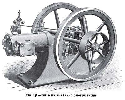 The Watkins Gas and Gasoline Engine