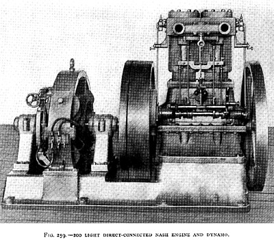 Trial of a Nash Gas Engine