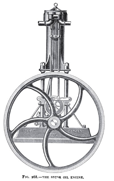 The Secor Oil Engine