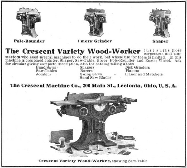 Figure 14. Advertisement from the July, 1909 issue of