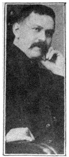 Fig. 2. Photo of Elmer Harrold appearing in the November 22, 1909 issue of