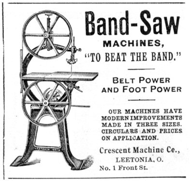 Figure 4. An advertisement that appeared in the December 1897 issue of