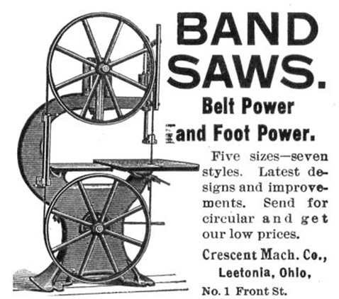 Figure 5. Ad appearing in the March 1896 issue of