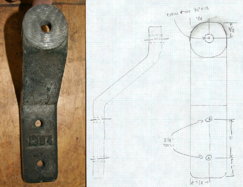 Crescent Jointer Guard Part B with Drawing