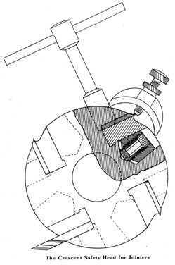 The Crescent Safety Head for Jointers