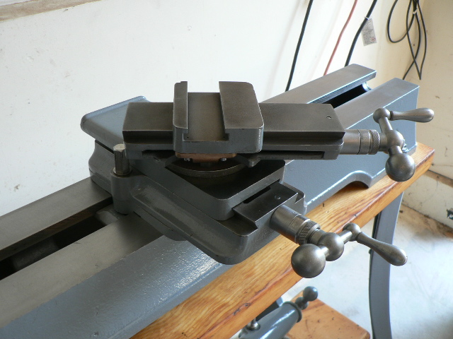 Cross Slide 46-965 installed on lathe