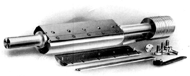Image showing a clamshell style cutterhead